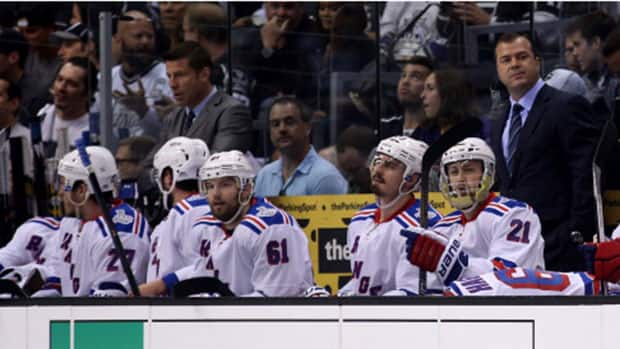 The New York Rangers will need to find another gear if they want to return home tied 1-1 Saturday night in the Stanley Cup final against the Los Angeles Kings. (Bruce Bennett/Getty Images)