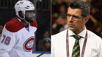 No matter which salary figure the arbitrator decides, the contract stalemate between Canadiens defenceman P.K. Subban and GM Marc Bergevin is now very personal. (Getty Images)
