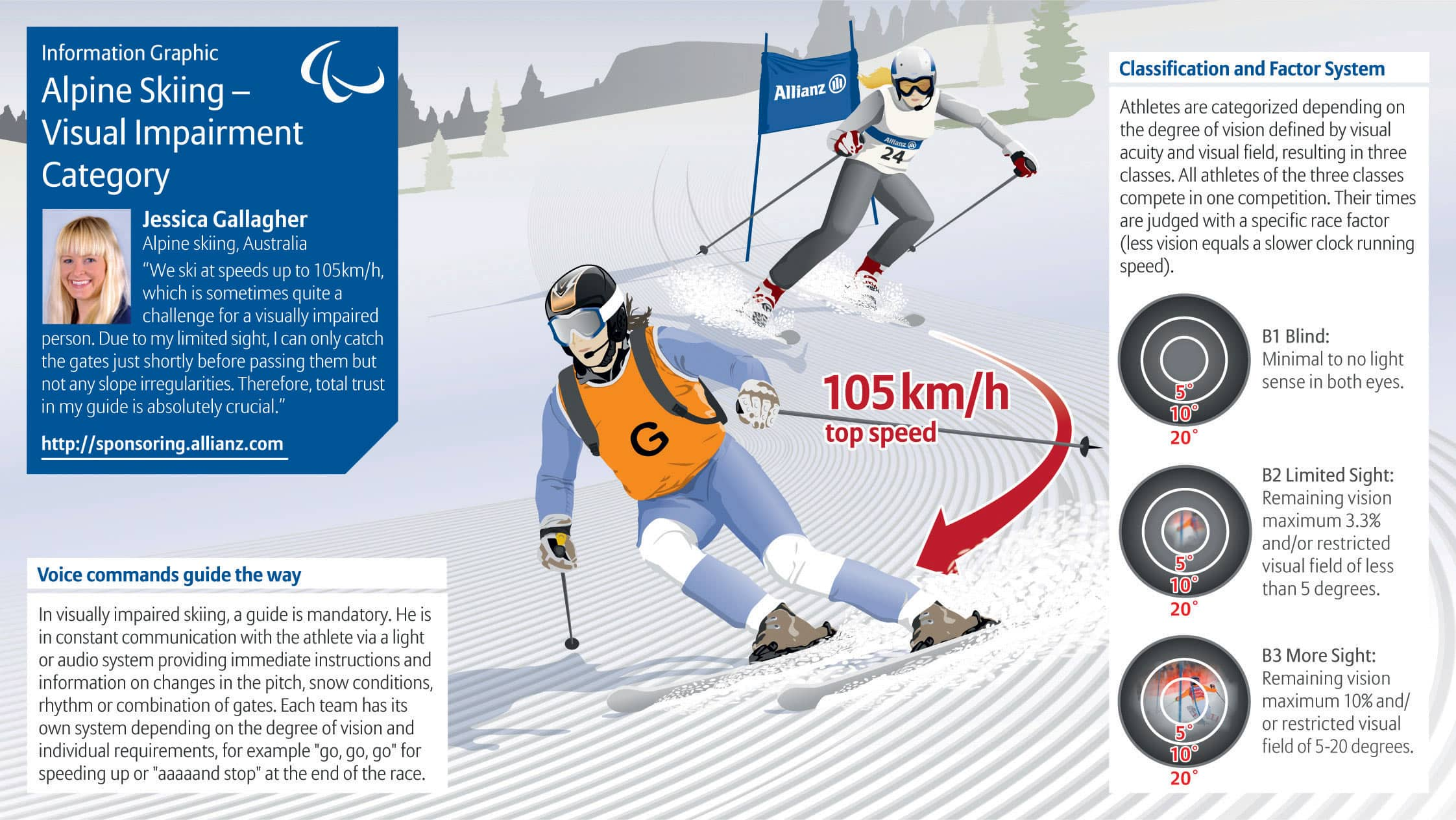 Alpine Skiing - Sitting Category Infographic