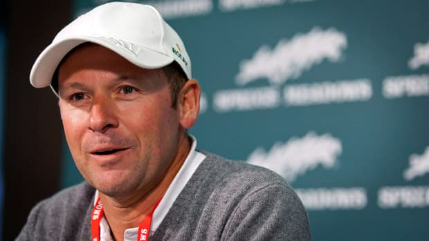 Watch Eric Lamaze Media Conference From Spruce Meadows