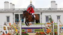 Ian Millar of Perth, Ont., competed aboard Star Power in his record 10th Olympics at London. (Alex Livesey/Getty Images)