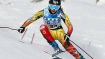 Out of competition since December 2009, Canadian skier Kelly VanderBeek is motivated to compete at a World Cup race in Sochi, Russia in three weeks, site of the 2014 Winter Olympics. (Marco Trovati/Pentaphoto)