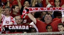 Several Canadian fans made the trip to Panama City on Sept. 11, but the national team didn't get the most hospitable welcome from the host country. (Arnulfo Franco/Associated Press)