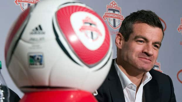 Ryan Nelsen was introduced Tuesday as Toronto FC's new head coach. (Frank Gunn/Canadian Press)