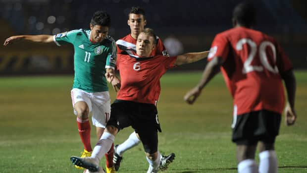 Team Canada kicks off its u-20 qualifying campaign on Monday in the central Mexican city of Puebla. (Johan Ordonez/AFP/Getty Images)