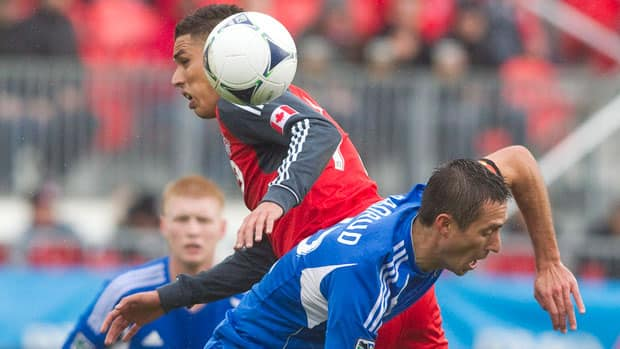 The Montreal Impact host Toronto FC in the rivals' first regular season meeting on Saturday. (Chris Young/Canadian Press)