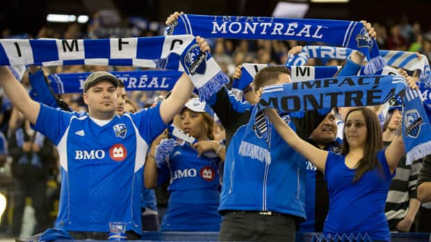 Fans of Montreal Impact are enjoying the franchise's 3-0 start to the MLS season. (Peter McCabe/Canadian Press)