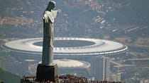 The famous Maracana stadium, in the shadow of Rio's iconic Christ the Redeemer statue, has been renovated in time to host Confederations Cup matches. (Vanderlei Almeida/AFP/Getty Images)