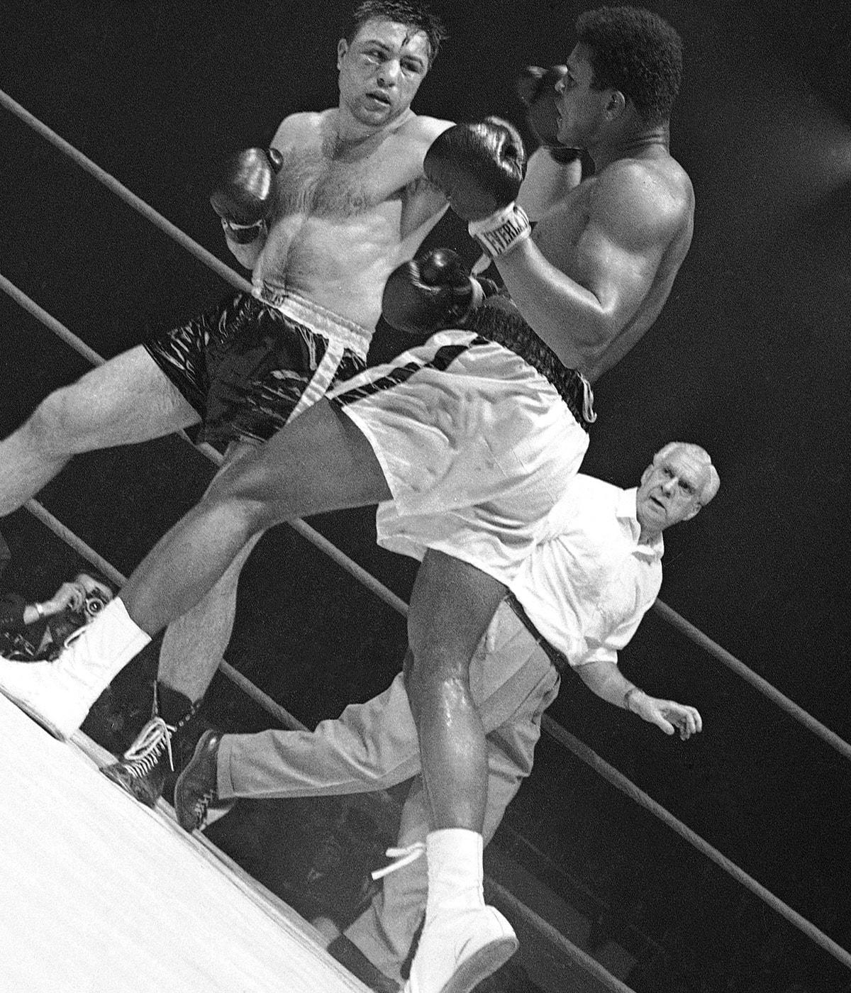 Ali vs. Chuvalo: Brutality, beauty mingled in truly epic brawl