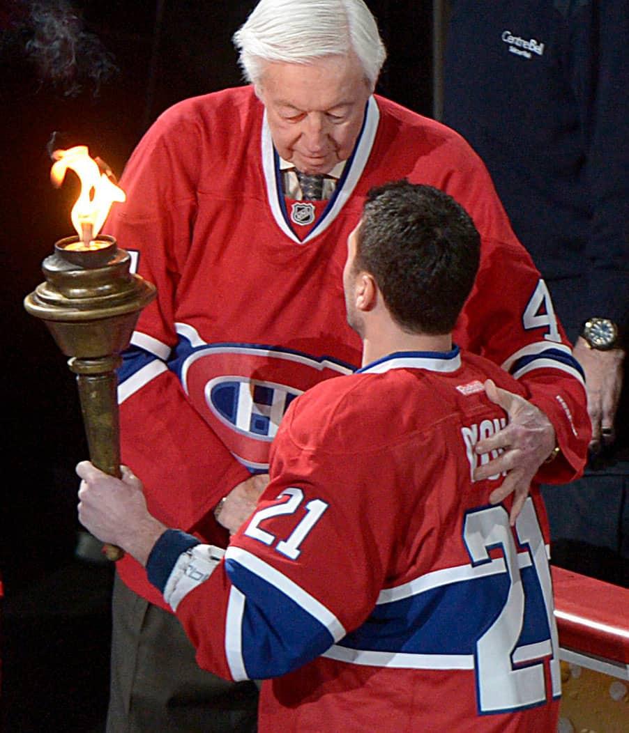 Jean Béliveau: The torch passes