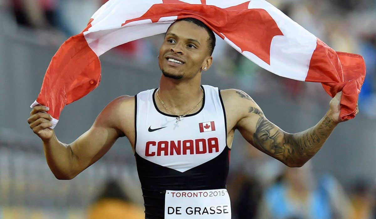 Andre De Grasse: Canadian athlete of the year