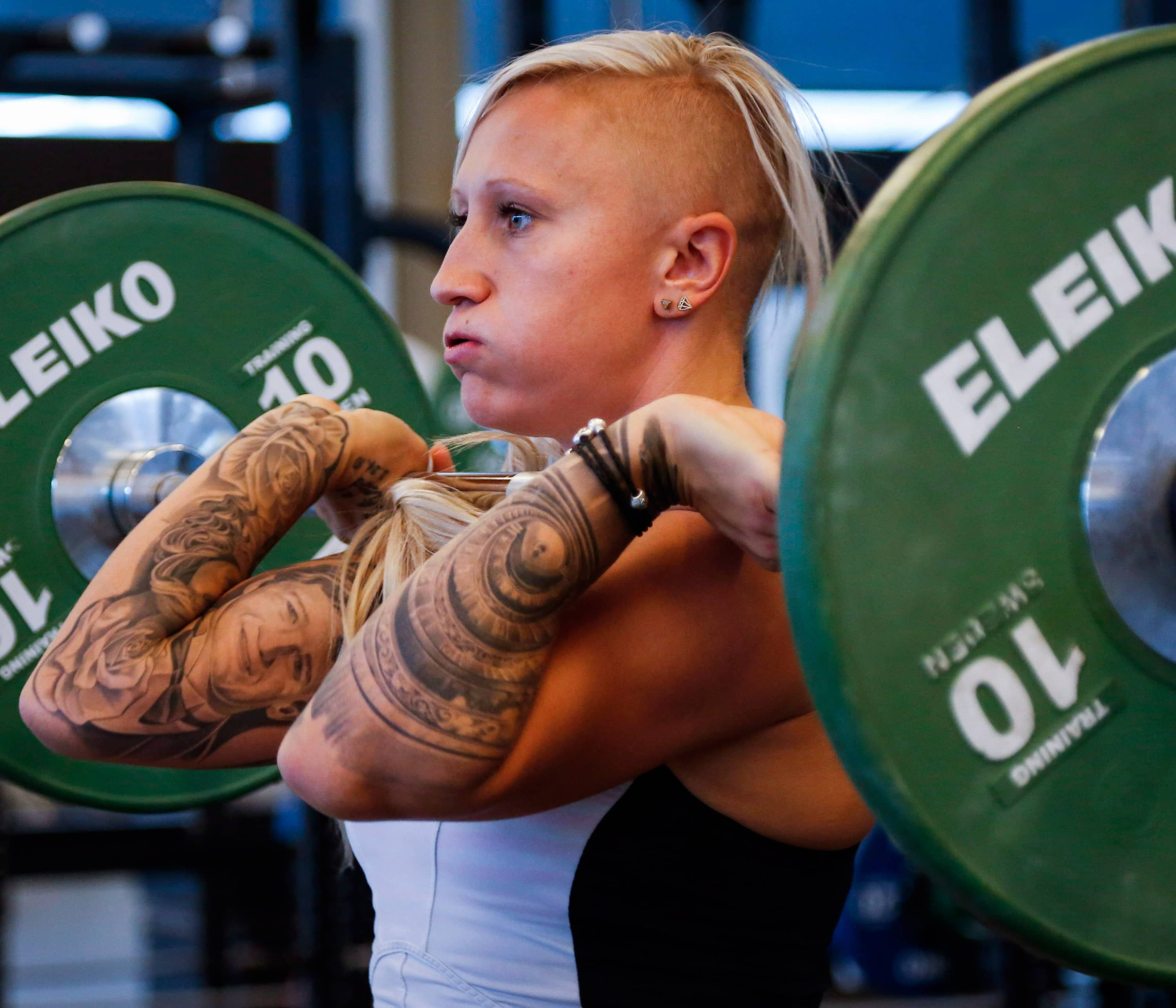 Kaillie Humphries takes on the men