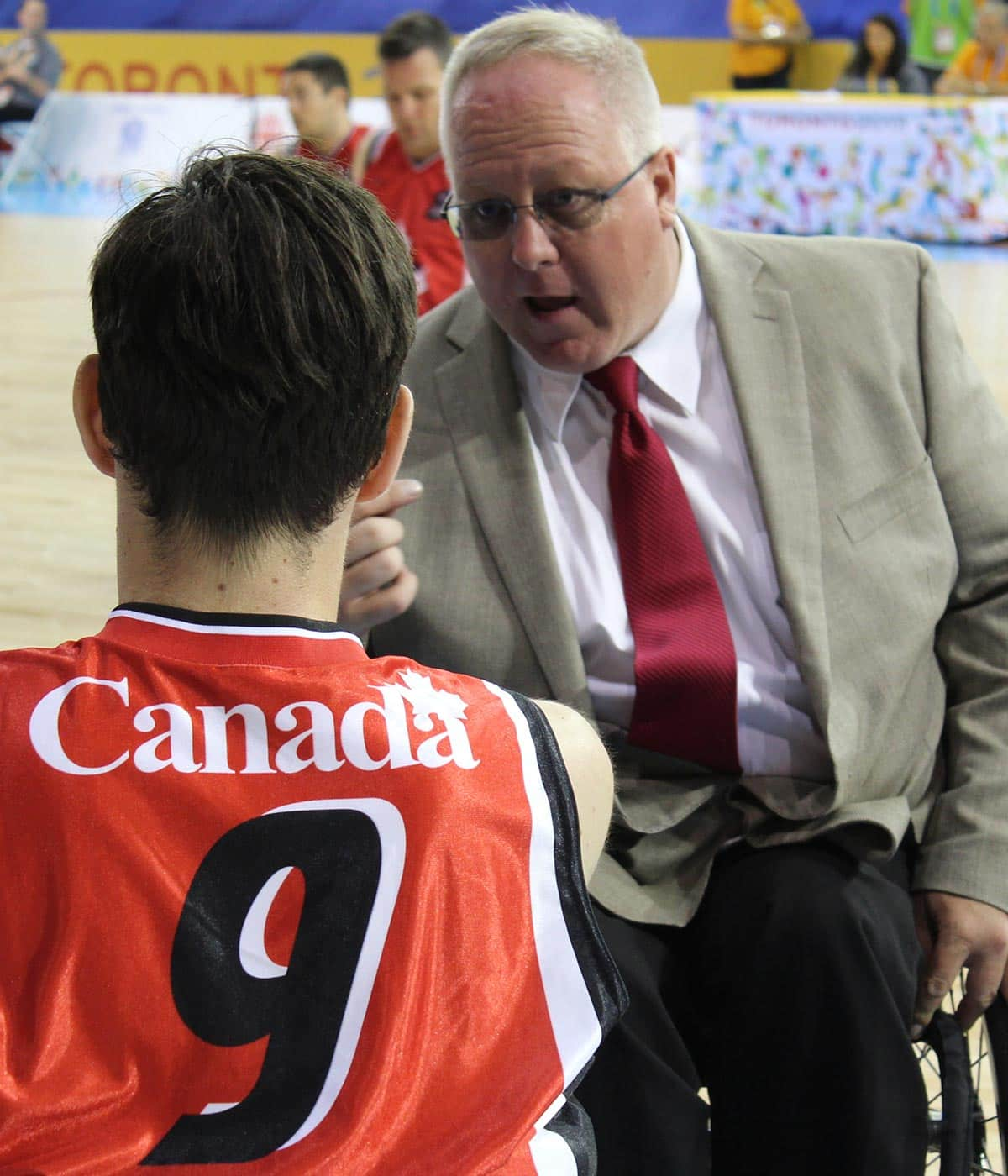 Kevin Orr: A day in the life of a wheelchair rugby coach