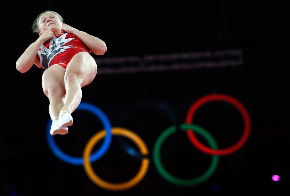 Rosie MacLennan: A leap of faith