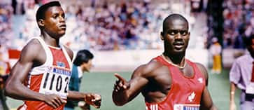 Ben Johnson vs  Carl Lewis: The race and the disgrace - CBC