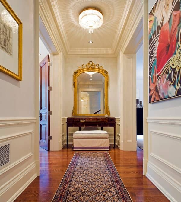 Floor Covering Ideas For Hallways: Hallways & Cool Wall Designs