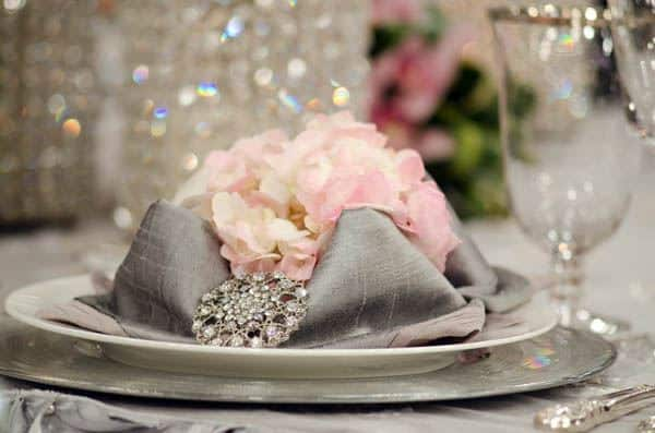 Lily Pad Napkin Fold - Steven and Chris