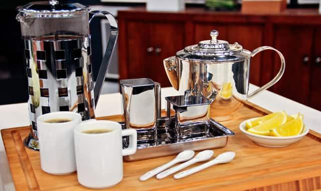 Clean Modern Coffee/Tea Service
