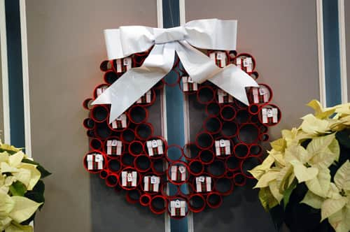 Unusual Wreath Ideas - Steven and Chris