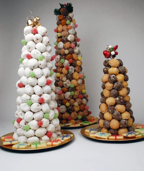 Christmas Tree Food.Donut Hole Christmas Tree Steven And Chris