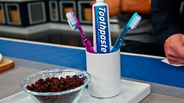 Bug in your toothpaste for April Fool's Day