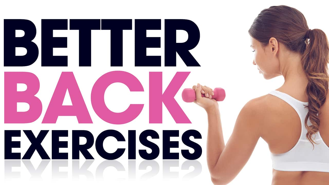better back exercises
