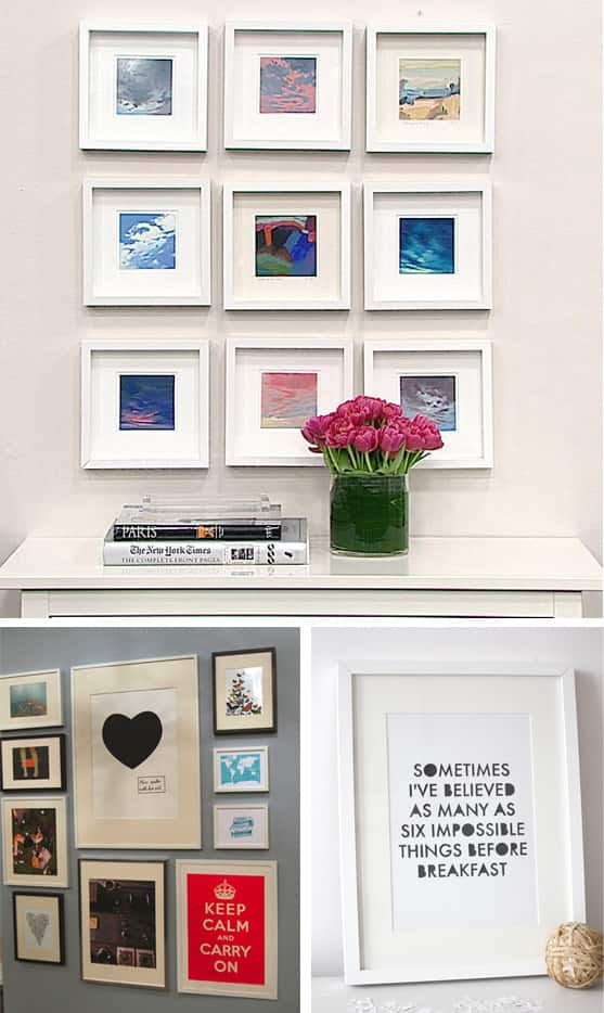 Homesense wall art : Regret free budget decorating tips for renters steven