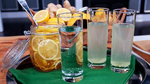 Ginger Honey Lemon Elixir