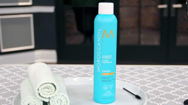 Moroccan Oil Hairspray - Medium