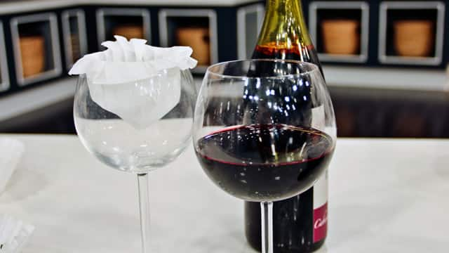 Use a Coffee Filter to Eliminate Cork from Wine