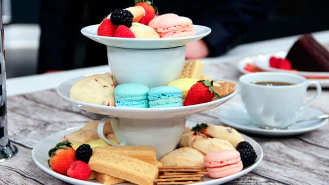 Dress Up Your White Dinnerware Set: Afternoon Tea Tower
