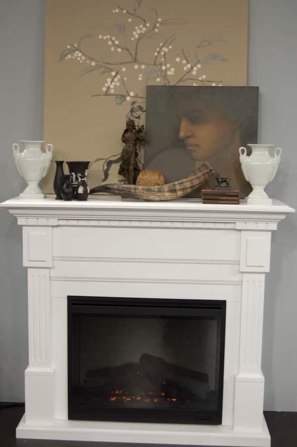 Fireplace Mantles - Steven and Chris