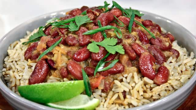 Kidney Beans And Rice Rajma Chawal Steven And Chris