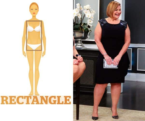 Fashion for rectangle body shape 29