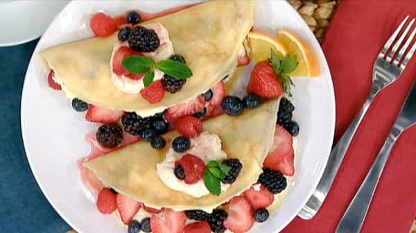 marvelous brunch at home ideas. These berry and mascarpone filled crepes from Chef Michael Clive are just  right for a special breakfast or brunch Be sure to let the crepe batter rest Perfect Mother s Day Brunch Ideas Steven Chris