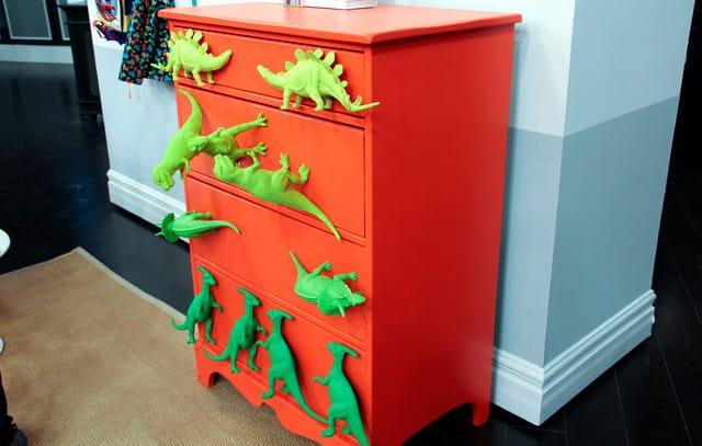 Dino DIYs For A Kid's Bedroom