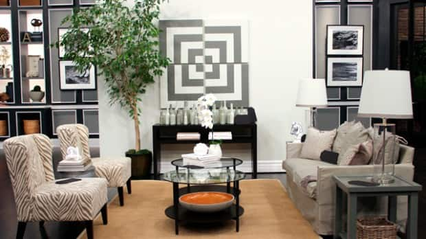 Beautiful Budget-Friendly Living Room - Steven and Chris