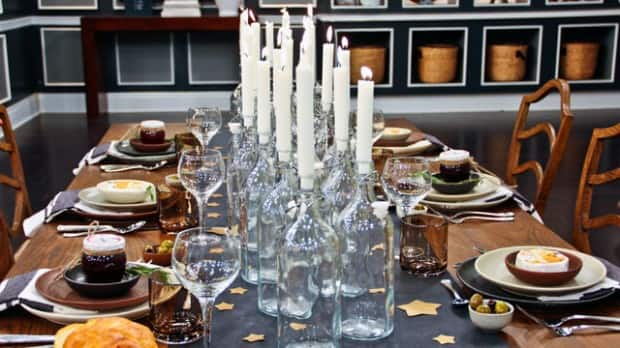 Quick Inexpensive Table Settings For Casual Dinner