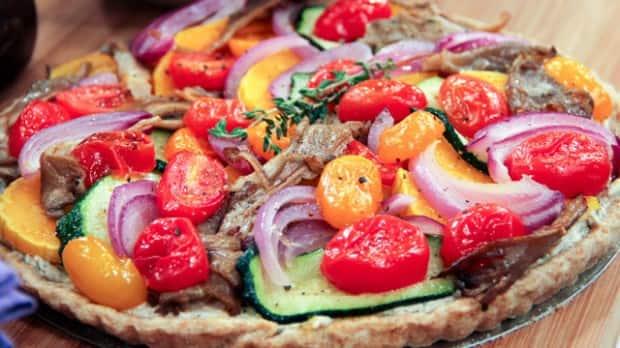 Herb Vegetable Tart