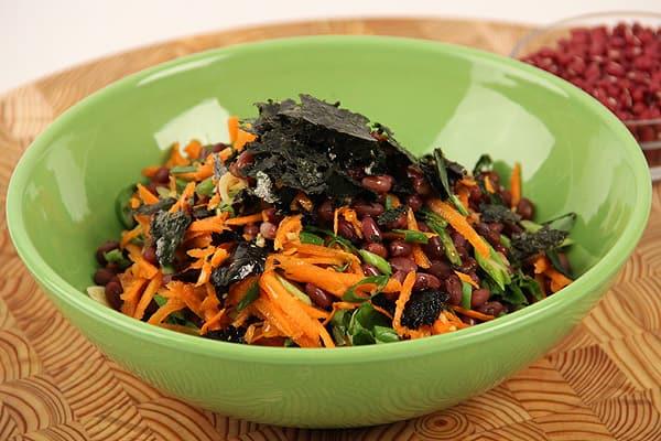 Adzuki Bean Salad - Steven and Chris