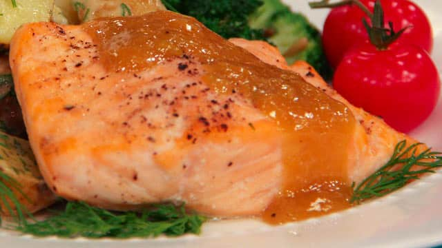 Baked Lemon Pepper Salmon with