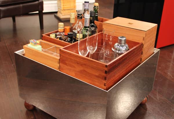 Low Fold Up Coffee Table