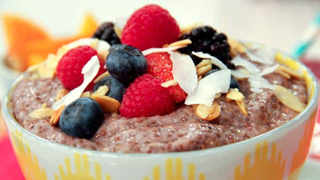 Berry Chia Pudding by Joy McCarthy