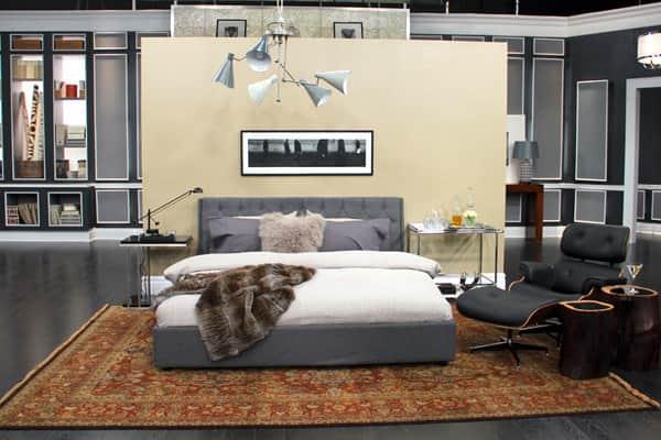 Bond-Style Bedroom Decor - Steven and Chris