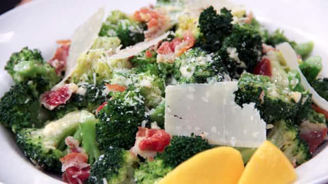Broccoli Caesar Salad by Stefano Faita