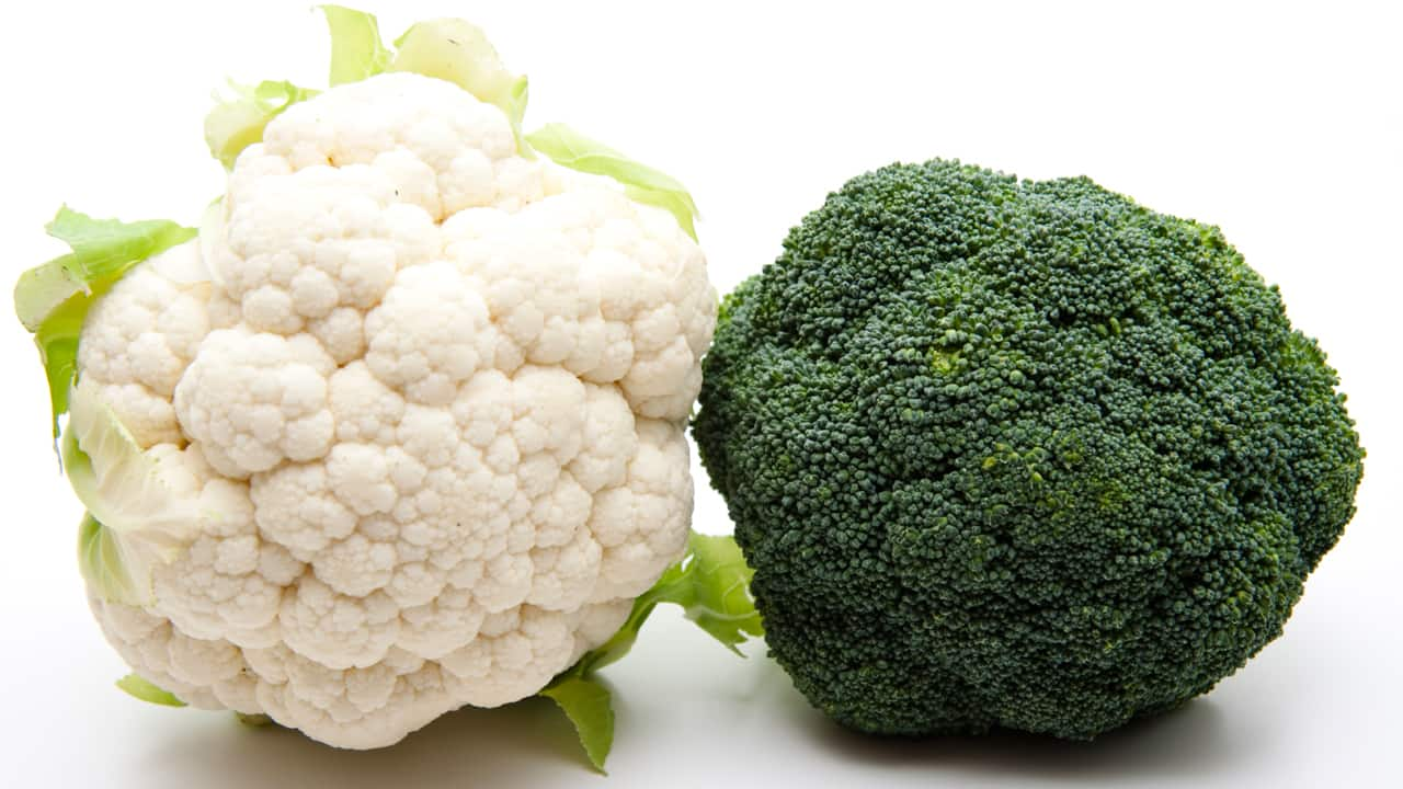 cauliflower vs. broccoli