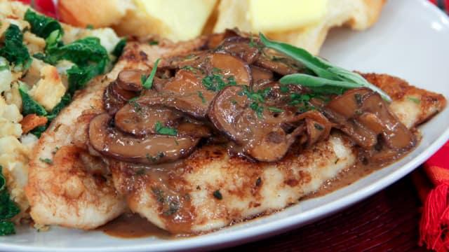 Chicken Marsala by Chef Joshna Maharaj