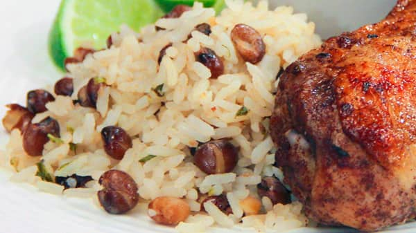 how to cook jamaican chicken rice and peas
