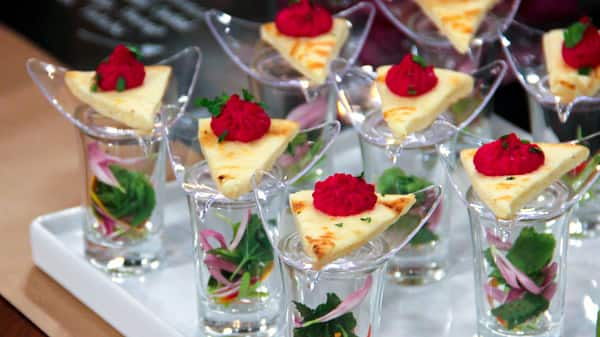 Classy Presentations for Your Appetizers - Steven and Chris