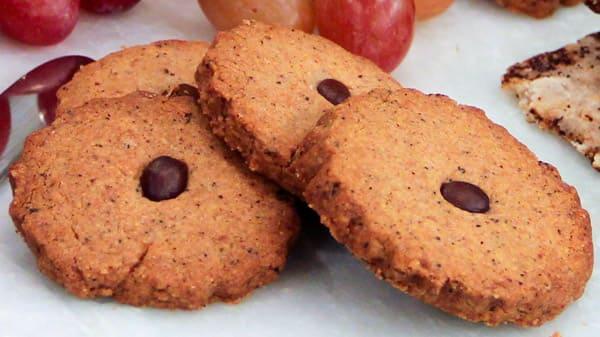 Coffee and Hazelnut Cookies